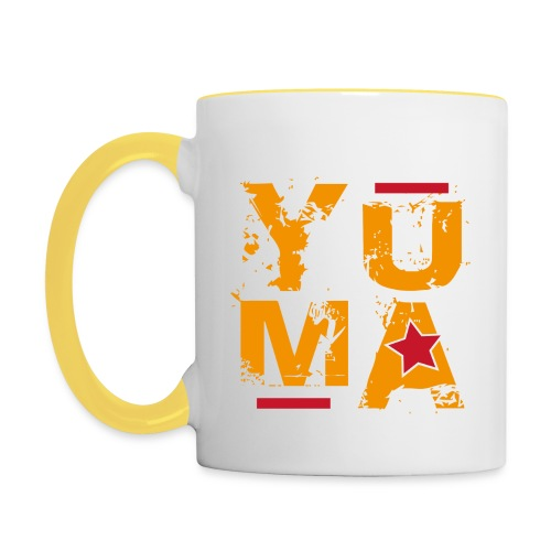 yuma orange rouge - Mug contrasté
