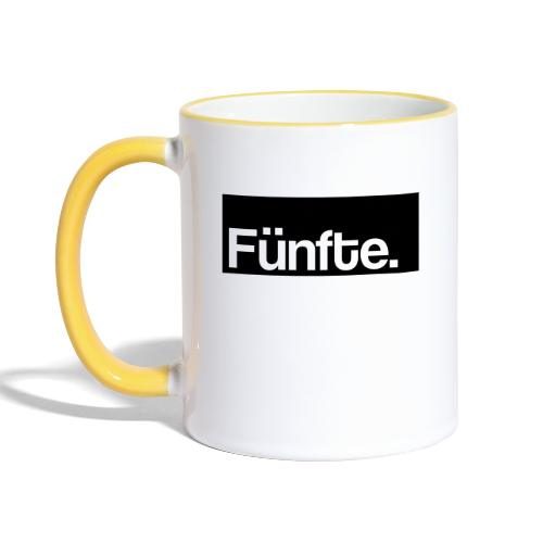 Fünfte. Boxed - Tasse zweifarbig