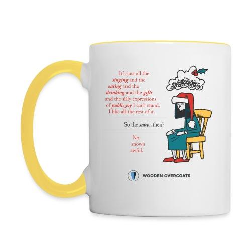 Antigone Funn Christmas - Contrasting Mug