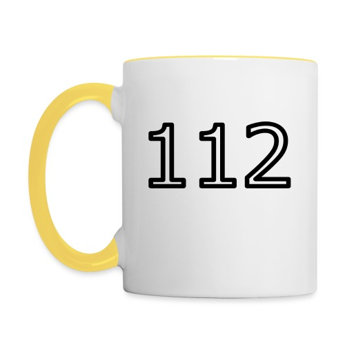 112 - Tasse zweifarbig