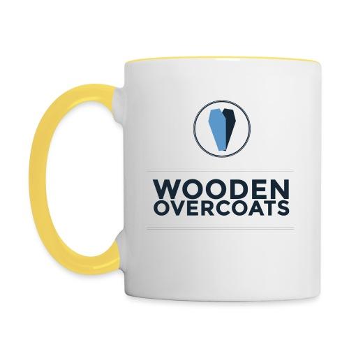 Wooden Overcoats Logo Mug - Contrasting Mug