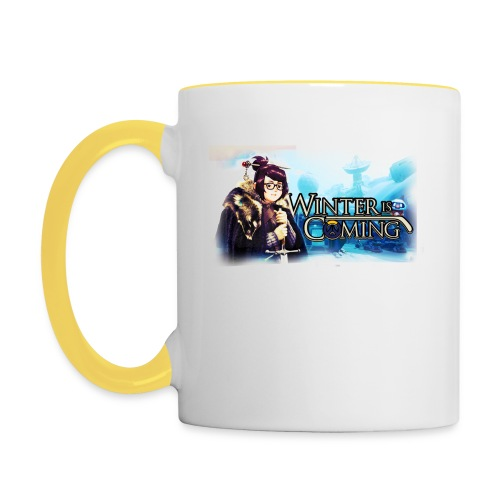 Overwatch and GameOfThrones Fusion - Contrasting Mug