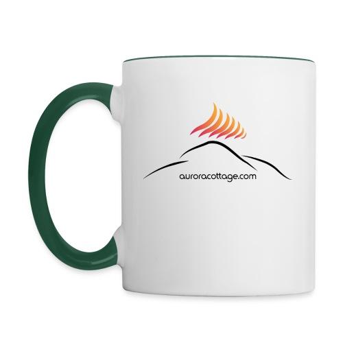 auroracottage.com - Tasse zweifarbig