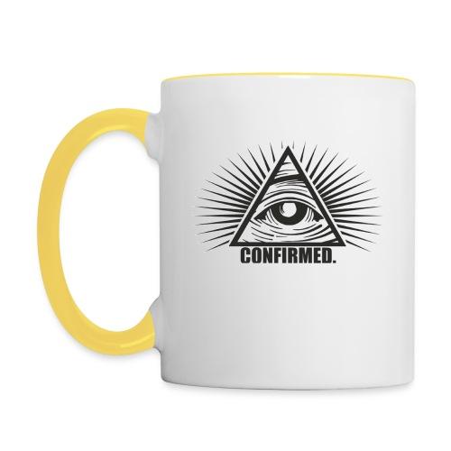 illuminati - Tasse zweifarbig