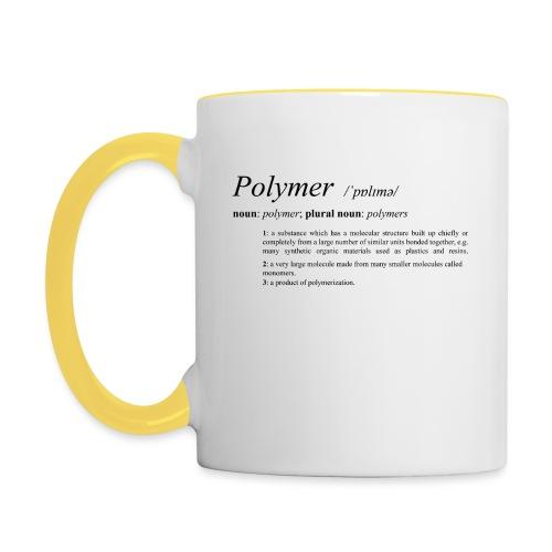 Polymer definition. - Contrasting Mug