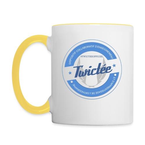 logo twictee - Mug contrasté