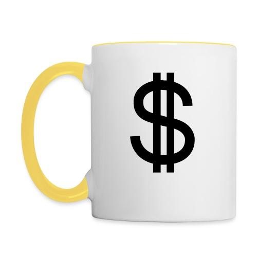Dollar - Taza en dos colores
