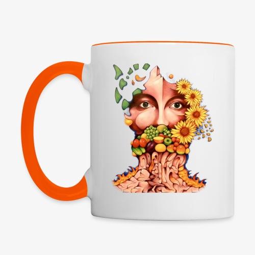 Fruit & Flowers - Contrasting Mug