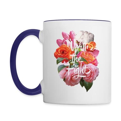 worth the fight - Contrasting Mug