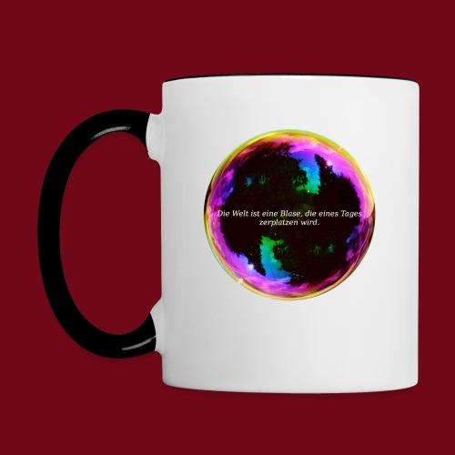 Blase - Tasse zweifarbig