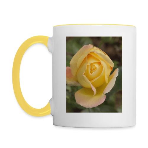 Róża - Kubek dwukolorowy