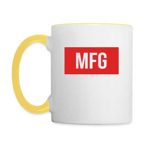 MFG on Youtube Logo - Contrasting Mug