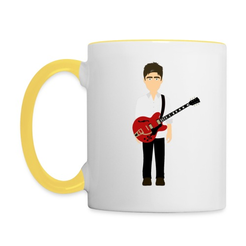 Noel Gallagher White Shirt Edition - Contrasting Mug