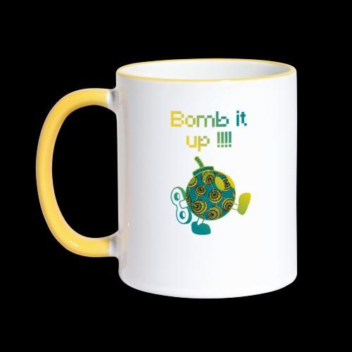 Bomb It Up : Green Power !!! - Mug contrasté