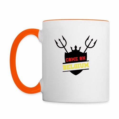 Come On Belgium - Mug contrasté