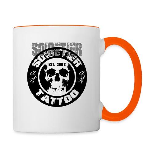 logo bad1 - Tasse zweifarbig