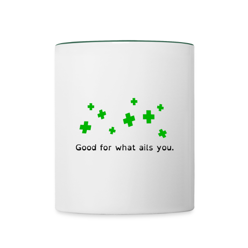 Good For What Ails You - Contrasting Mug