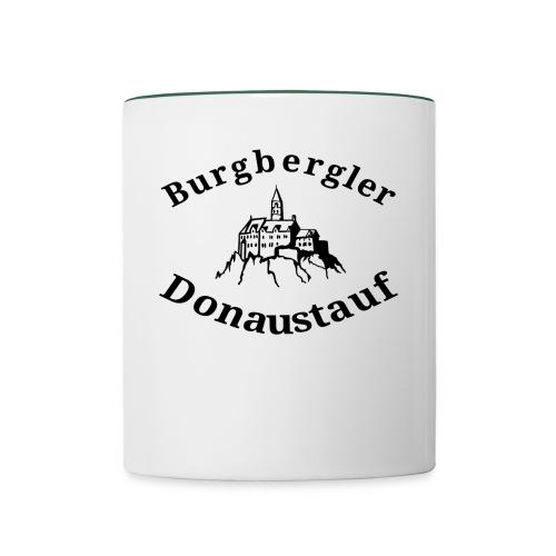 Burgbergler Donaustauf - Tasse zweifarbig