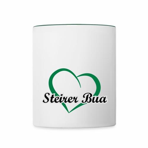 Steirerbua - Tasse zweifarbig