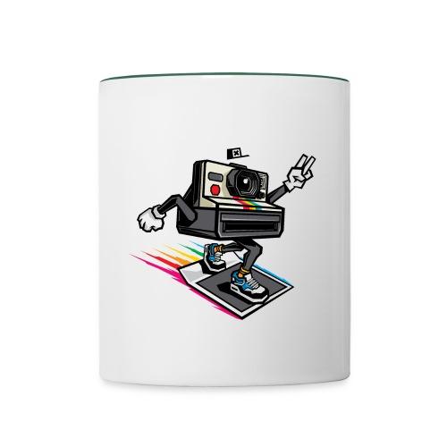 Appareil Polaroid 1000 - Mug contrasté