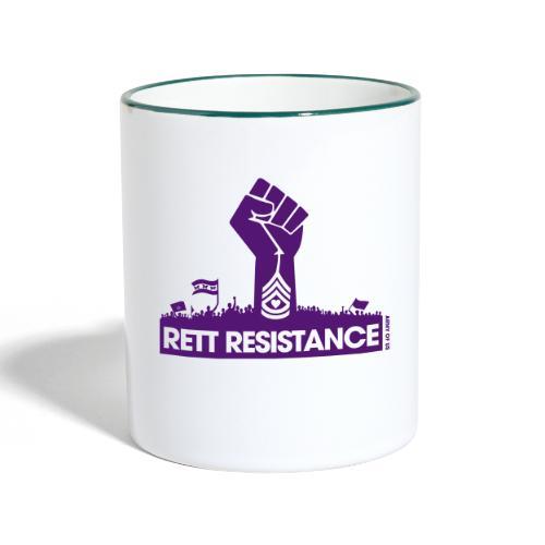 Rett Resistance - Army of Us - Contrasting Mug