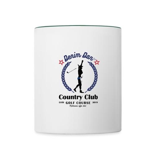Denim Dan™ Country Club - Tvåfärgad mugg