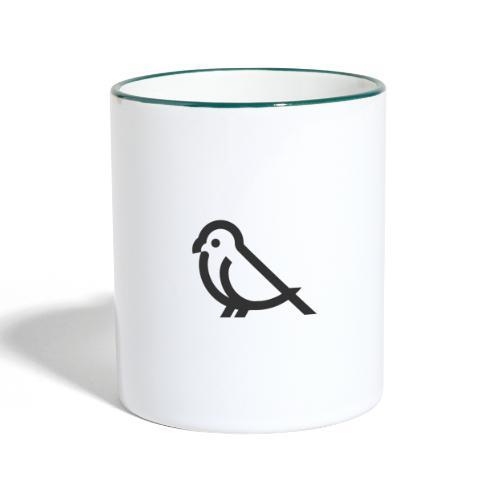 Bird - Tasse zweifarbig