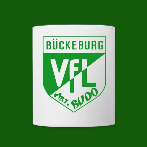 Abteilungslogo grün - Tasse zweifarbig