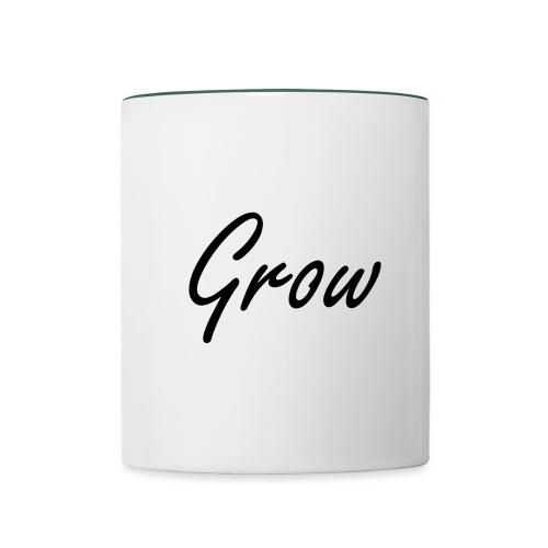 Grow - Tasse zweifarbig