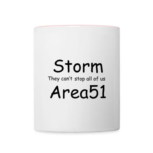 Storm Area 51 - Contrasting Mug