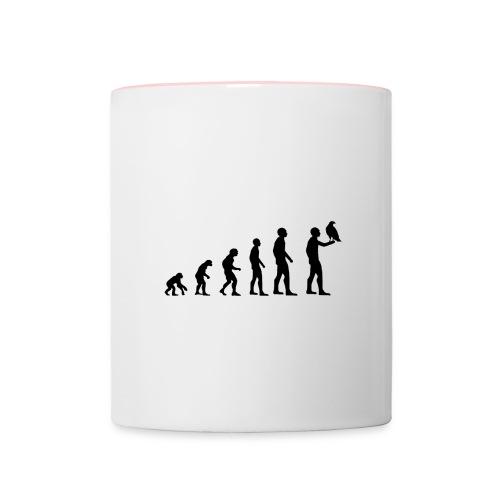 Evolution Falkner - Tasse zweifarbig