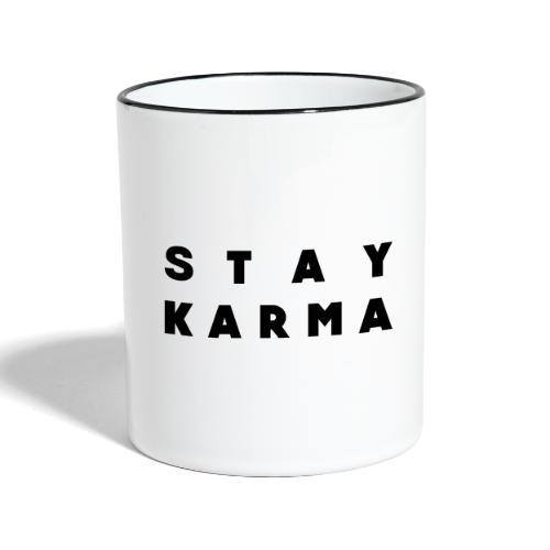 Stay Karma - Tazze bicolor