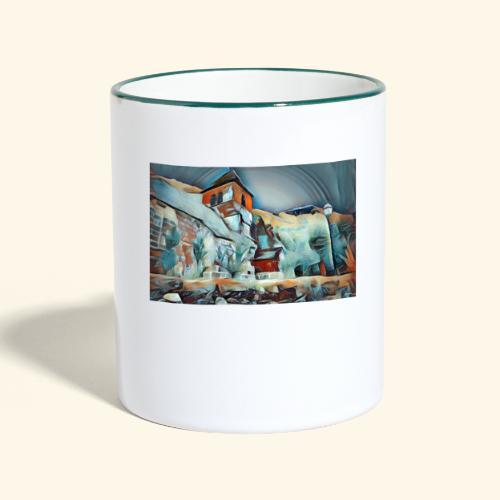 Bysantine church - Mug contrasté