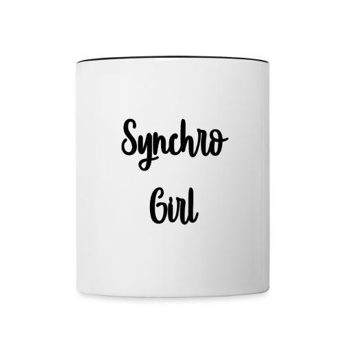 Synchro Girl - Kaksivärinen muki