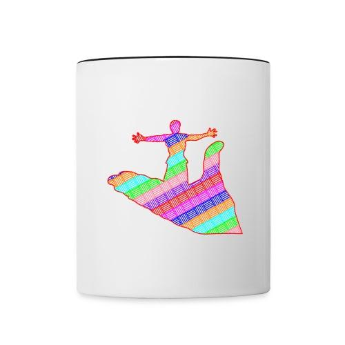 main - Mug contrasté