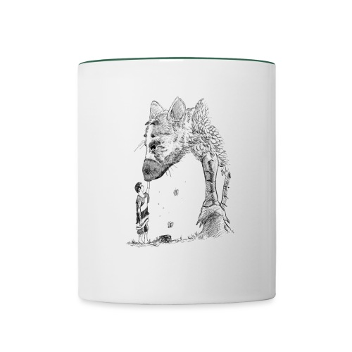 The Guardian and the Child - Mug contrasté