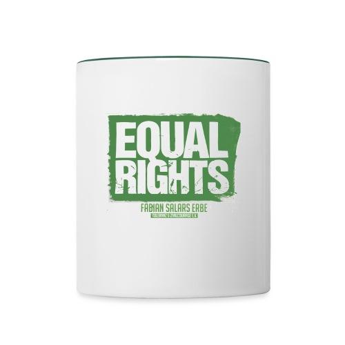 Equal Rights - Tasse zweifarbig