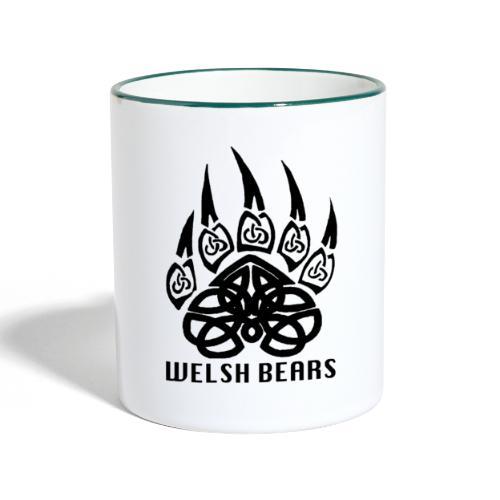 Welsh Bears - Contrasting Mug