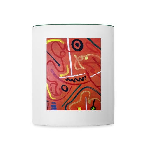 Antonius' Afrika2 - Taza en dos colores