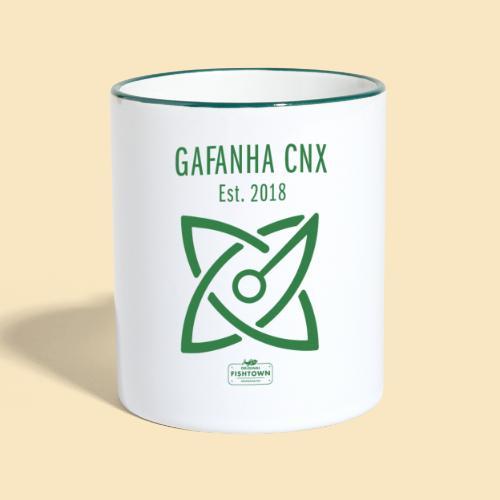 Gafhana Est. CNX green - Tasse zweifarbig