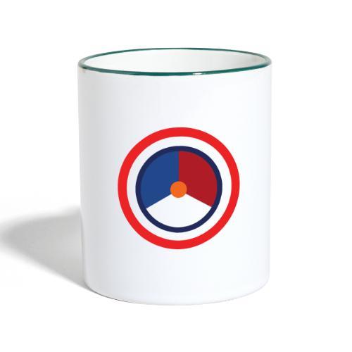 Nederland logo - Mok tweekleurig