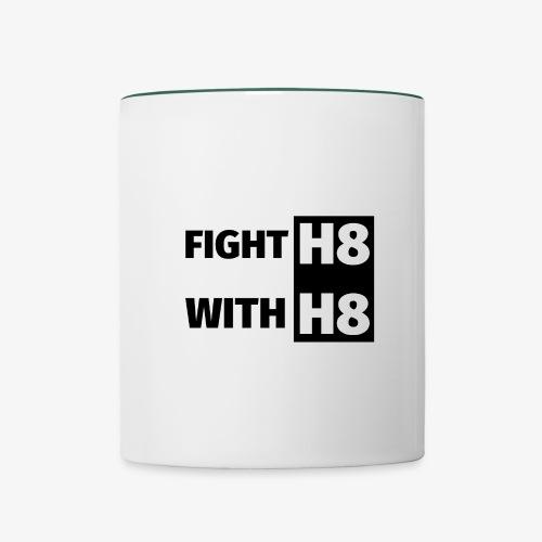 FIGHTH8 dark - Contrasting Mug