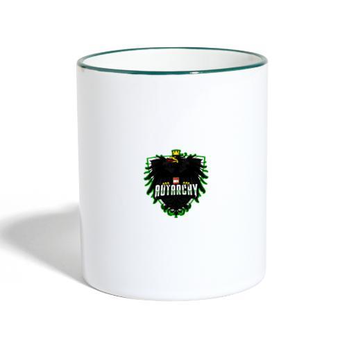 AUTarchy green - Tasse zweifarbig