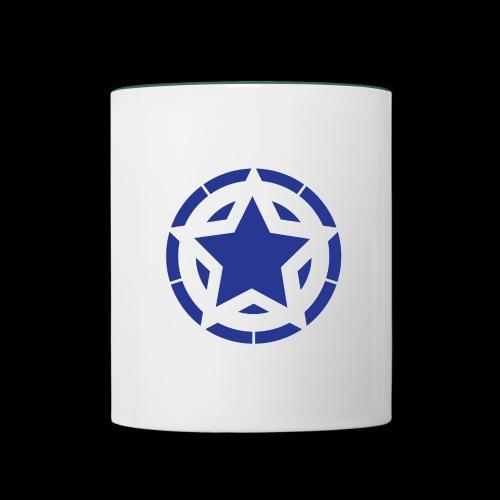 Stern Logo - Tasse zweifarbig
