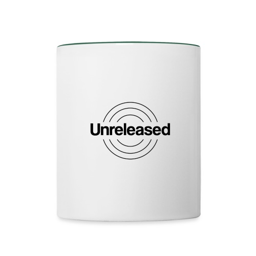 unreleased black - Mug contrasté