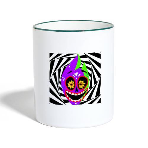 Halloween - Tasse zweifarbig