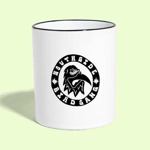 BLACK EAGLE LOGO - Kaksivärinen muki