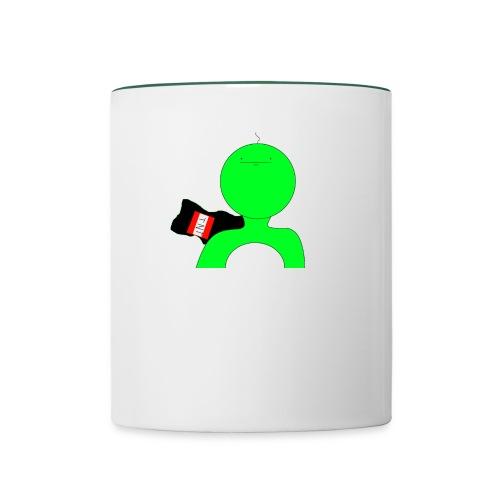 green crpp png - Contrasting Mug