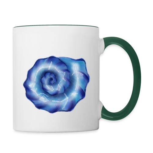 Galaktische Spiralenmuschel! - Tasse zweifarbig