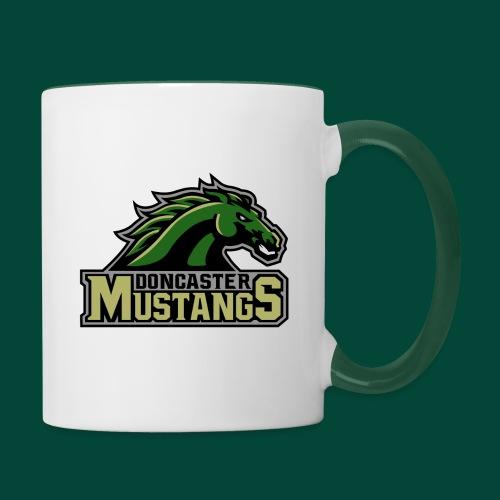 mustangs logo 2019v4 - Contrasting Mug